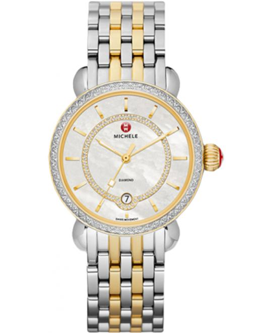 MICHELE CSX Elegance Mother of Pearl Ladies 36mm