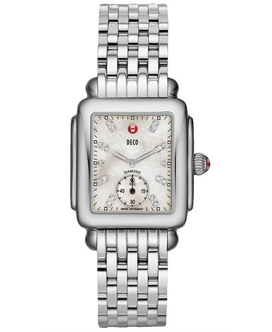 Michele Deco Mid Diamond Watch 29*31mm