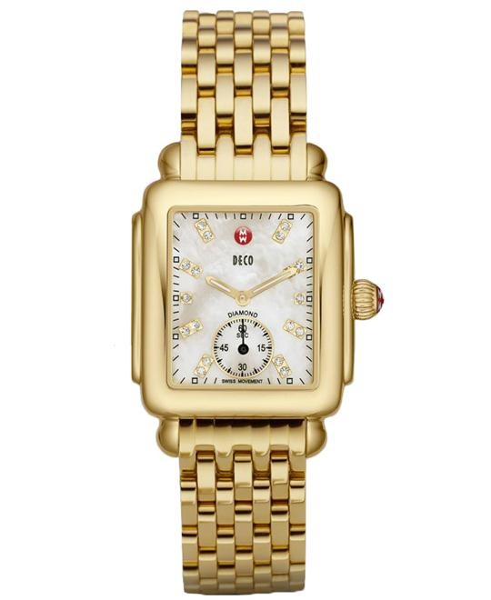 Michele Deco Mother-Of-Pearl Watch 29*31mm