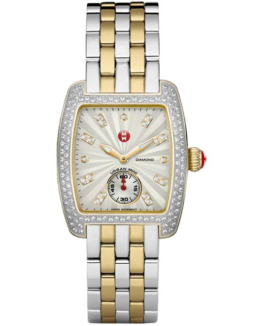 Michele Urban Mini Diamond Ladies 29mm X 30mm
