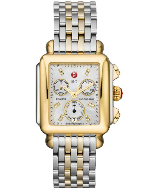 Michele Deco Non-Diamond Watch 33*35mm