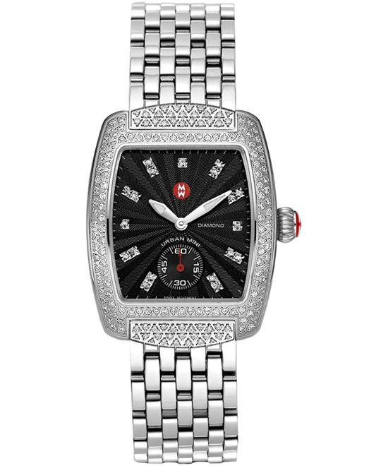 Michele Urban Mini Ladies Stainless 29mm X 30mm
