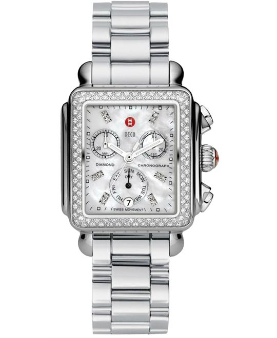 Michele Deco Diamond 3-Link 33*35mm