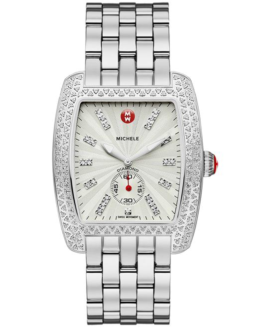 Michele Ladies Stainless Steel 36mm X 37mm