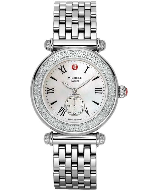 Michele Ladies Caber Diamond watch 37mm