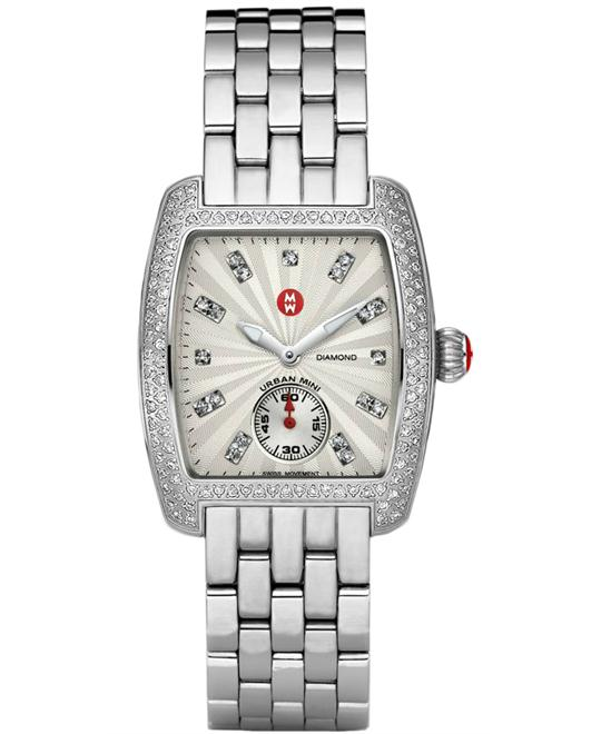 Michele Urban Mini Analog Ladies Polished 29mm X 30mm
