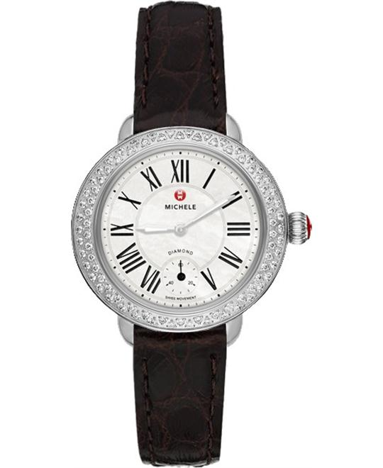 Michele Serein 12 Women's Watch 28 x 27.5mm