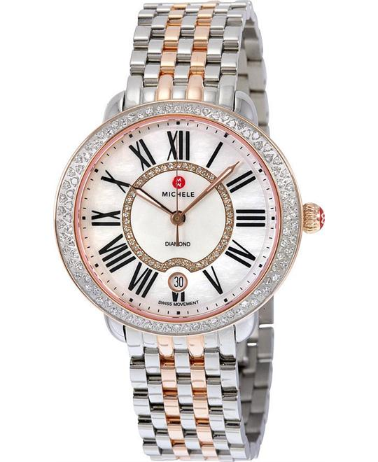 Michele Serein Mother of Pearl Watch 36mm