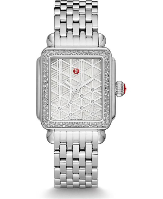 Michile Deco Diamond Layered Watch 33*35mm