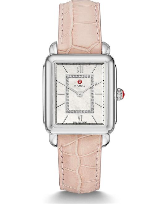 Michile Deco II Mid Diamond On Blush Watch 26*27mm