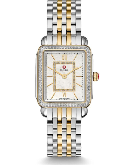 Michile Deco II Mid-size Diamond Watch 26*27.5mm