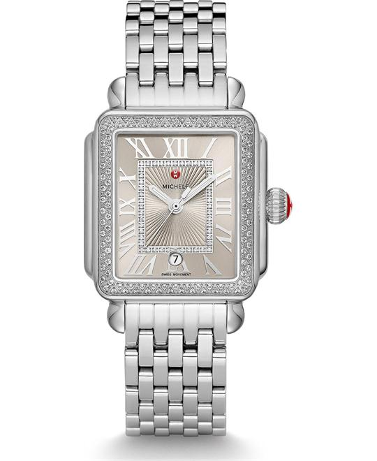 Michile Deco Madison Cashmere Diamond Watch 33*35mm