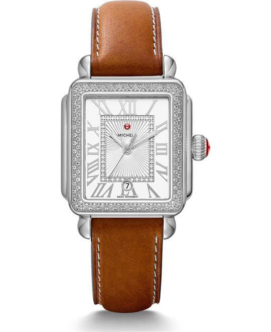 Michile Deco Madison Diamond Watch 33*35mm