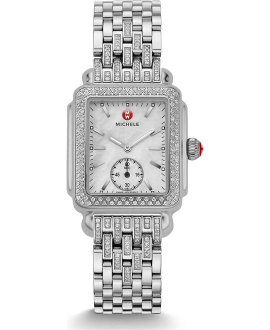 Michile Deco Mid Diamond Taper Watch 29*31mm
