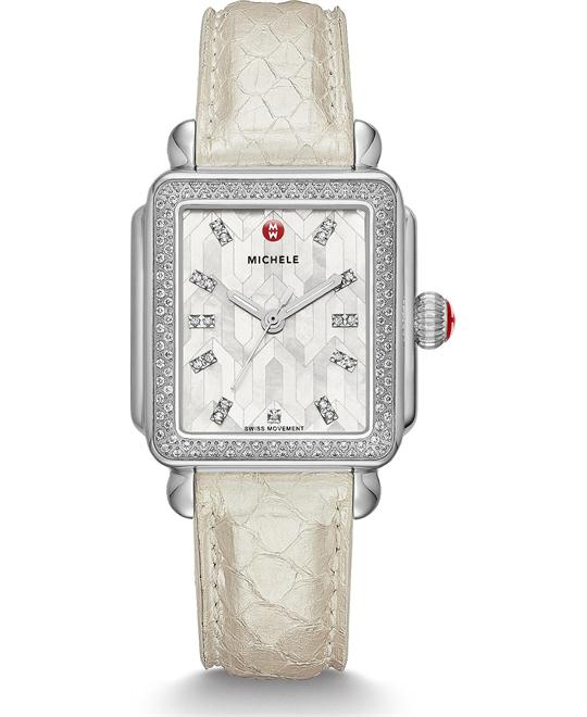 Michile Deco Mosaic Diamond Watch 33*35mm