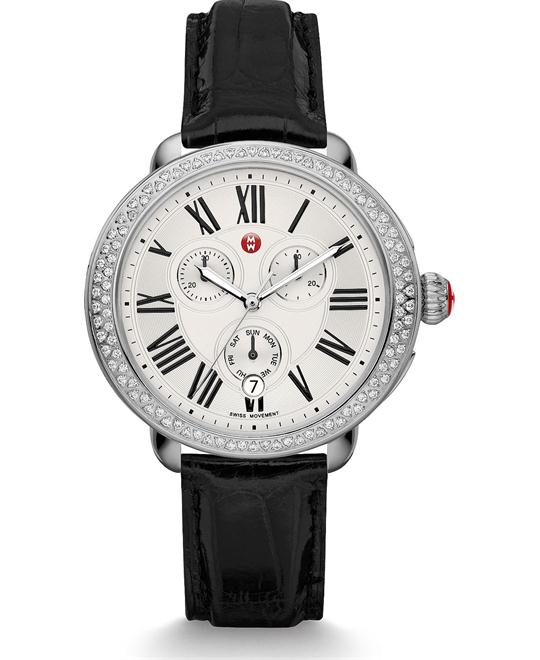 Michile Serein Diamond Black Watch 40*38mm