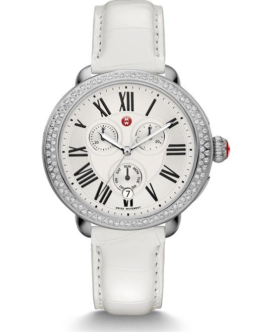 Michile Serein Diamond White Watch 40*38mm