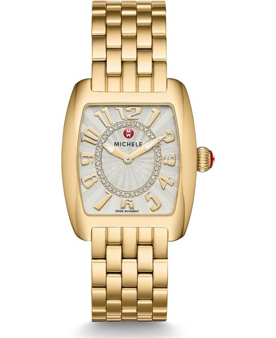 Michile Urban Mini Gold Diamond Watch 29*30mm