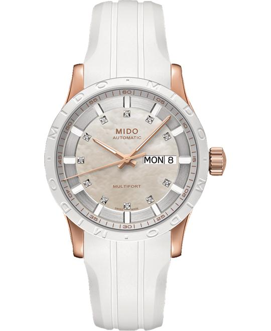 MIDO MULTIFORT II M018.830.37.116.80 WATCH 38MM
