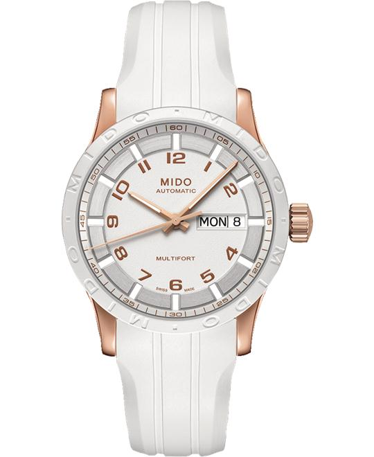 MIDO MULTIFORT M018.830.37.012.80 WATCH 38MM