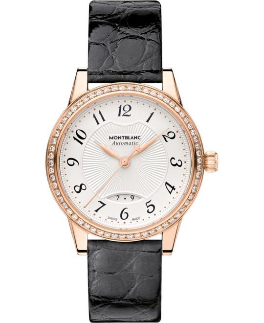 Montblanc Bohème 111059 Automatic Diamonds Leather 37mm