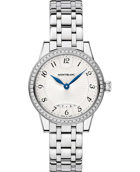 Montblanc Bohème 111209 Diamonds Ladies Quartz Watch 30mm