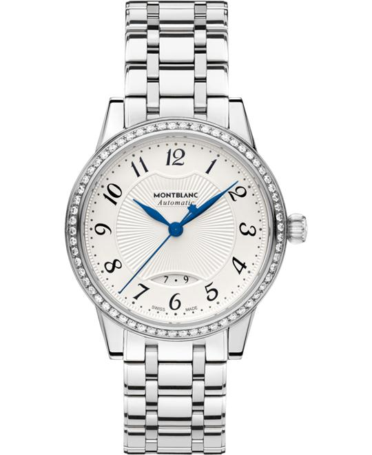 Montblanc Bohème 111214 Automatic Diamonds Ladies Watch 37mm