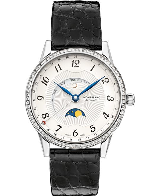 Montblanc Boheme Moongraden Diamond Watch 112555 37mm