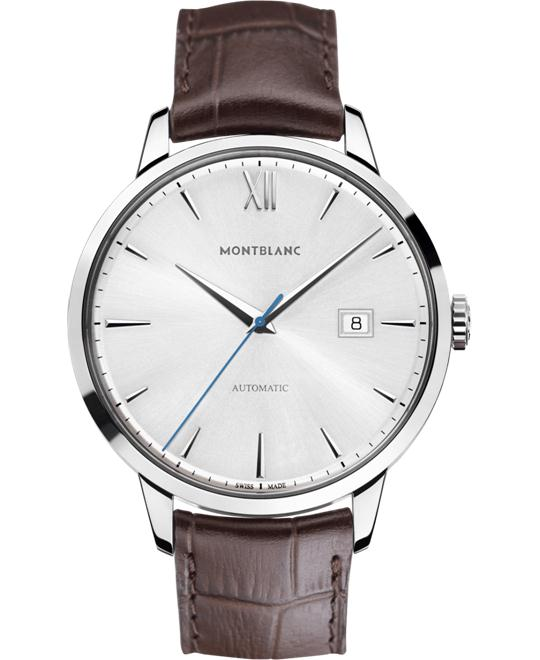 Montblanc Heritage Automatic Silver Dial 111580 41mm