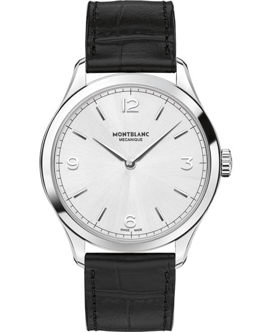 Montblanc Heritage Chronometrie Alligator Strap 112515 40mm