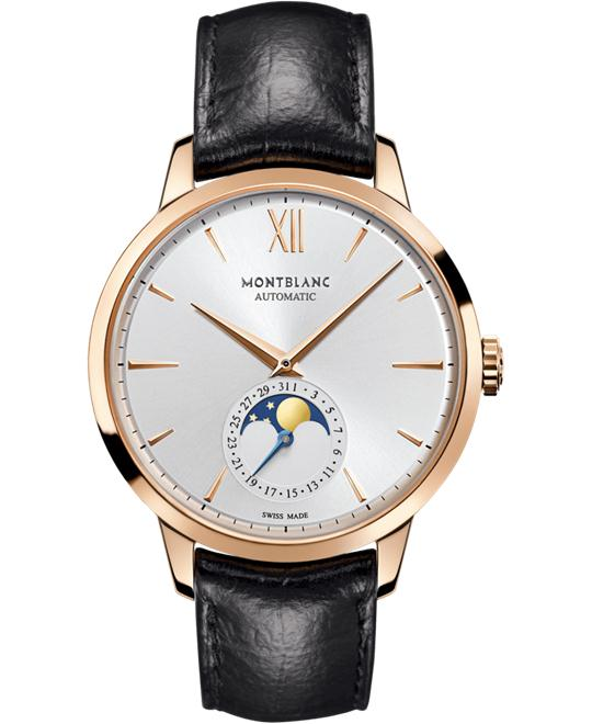 Montblanc Heritage Spirit Moonphase 18k Red Gold 111185 40mm