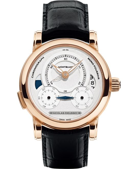 Montblanc Homage to Nicolas Rieussec 111592 Gold 43mm