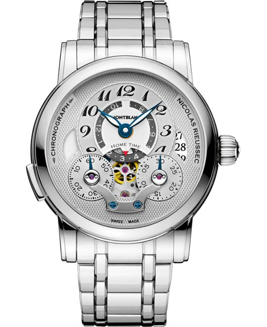 Montblanc Nicolas Rieussec 107068 Automatic Stainless Steel 43mm