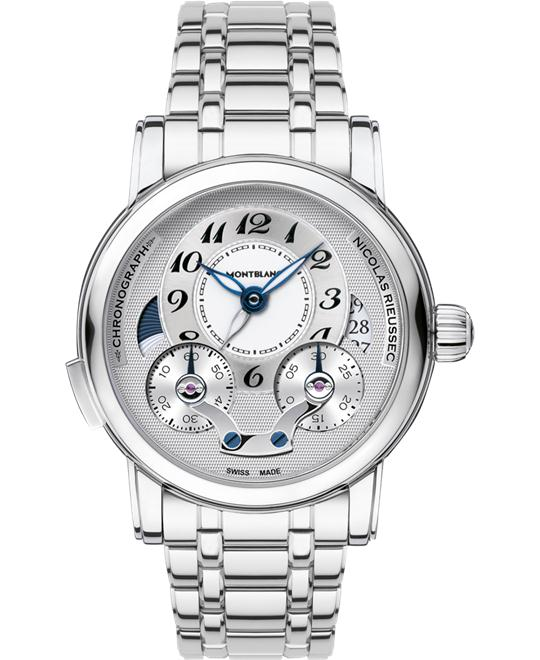 Montblanc Nicolas Rieussec 111833 Automatic Stainless Steel 43mm