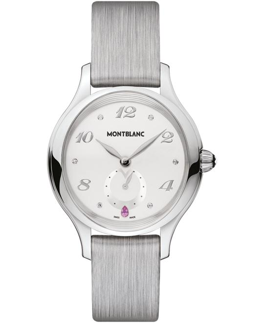 MontBlanc Princesse 107335 Grace of Monaco Leather 34mm