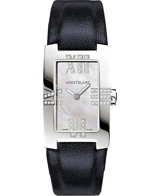 MONTBLANC PROFILE ELEGANCE 106490 WATCH 23x35mm