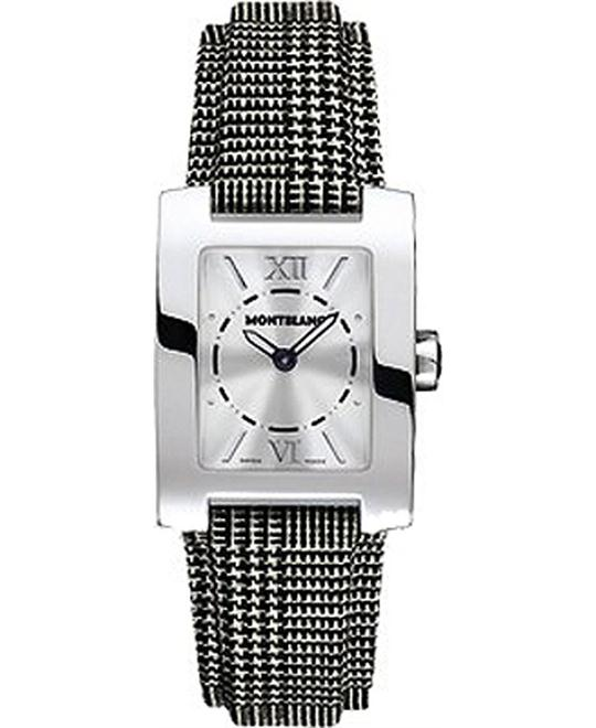MONTBLANC PROFILE ELEGANCE 36992 WOMENS WATCH 23x30mm