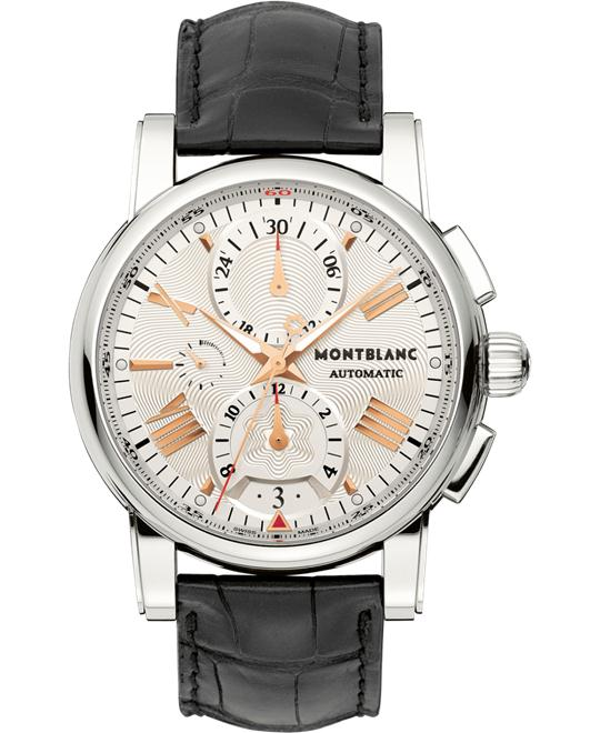 Montblanc Star 4810 105856 Chronograph Automatic Leather 44mm