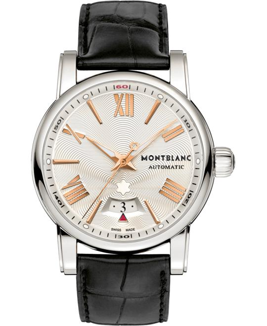 Montblanc Star 4810 105858 Automatic Silver Guilloche Dial 42mm