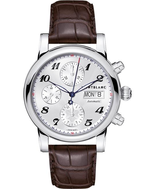 đồng hồ Montblanc Star Automatic Chronograph Leather 106466 38mm