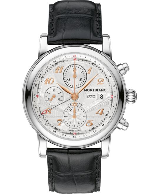 đồng hồ Montblanc Star Chronograph UTC Automatic Leather 110590 42mm