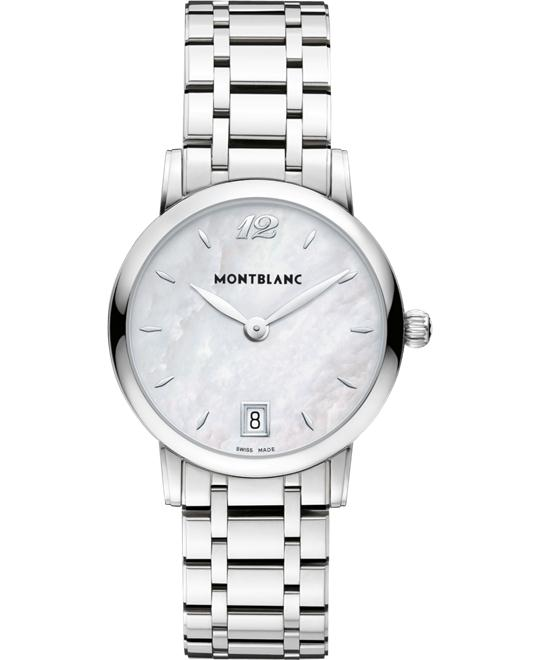 Montblanc Star Classique 108764 Mother of Pearl Quartz 37mm