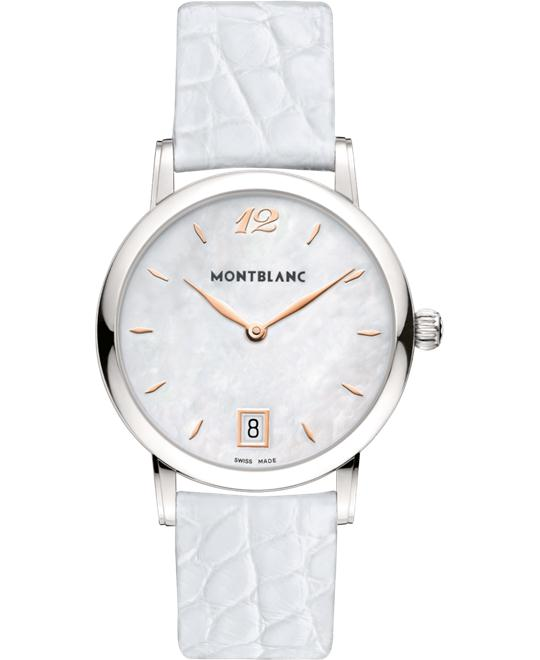 đồng hồ Montblanc Star Classique 108765 Mother of Pearl Quartz 37mm