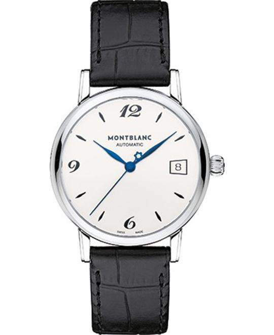 Montblanc Star Classique 111590 Silvery White Dial Automatic 34mm