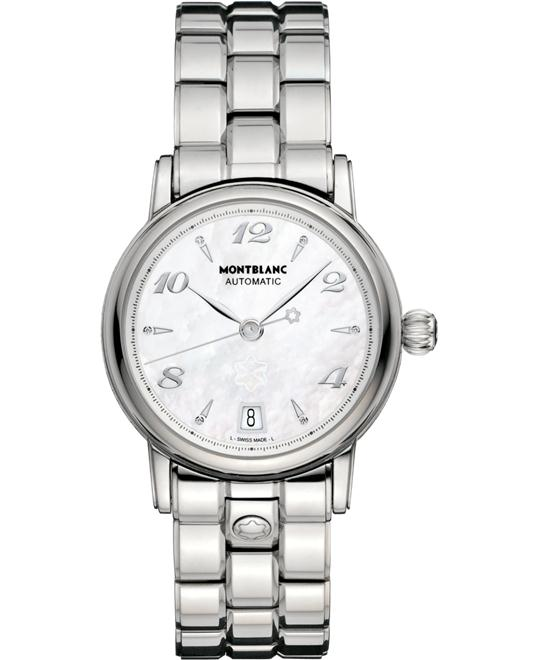 đồng hồ Montblanc Star Lady Automatic Mother of Pearl 107117 37mm