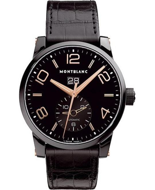 Montblanc Timewalker 106066 GMT Alligator Leather 42mm