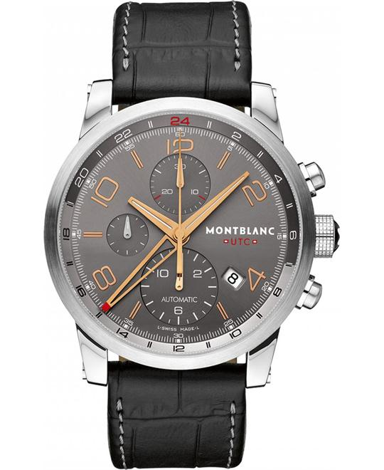 Montblanc Timewalker 107063 Automatic Anthracite Dial 43mm