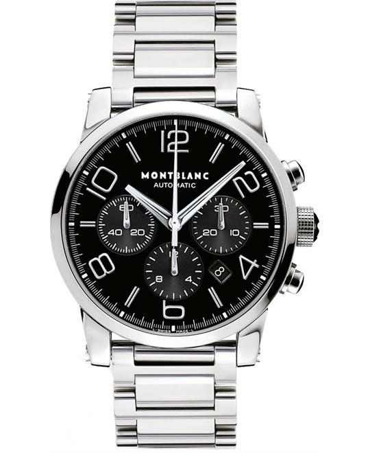 Montblanc Timewalker 9668 Stainless Steel Mens Watch 43mm