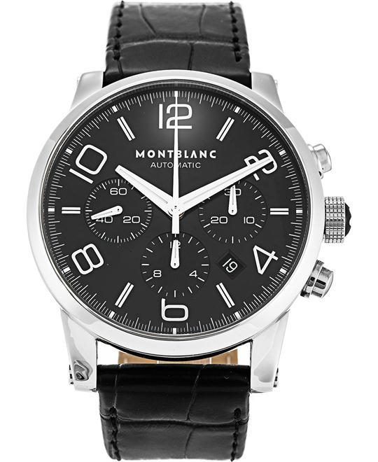 Montblanc Timewalker 9670 Black Dial Chronograph 43mm
