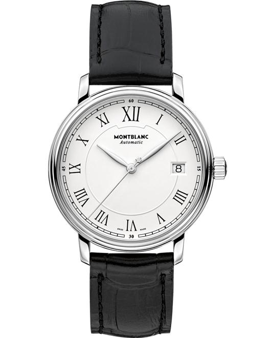 Montblanc Tradition Date Automatic Leather Strap 112611 37mm